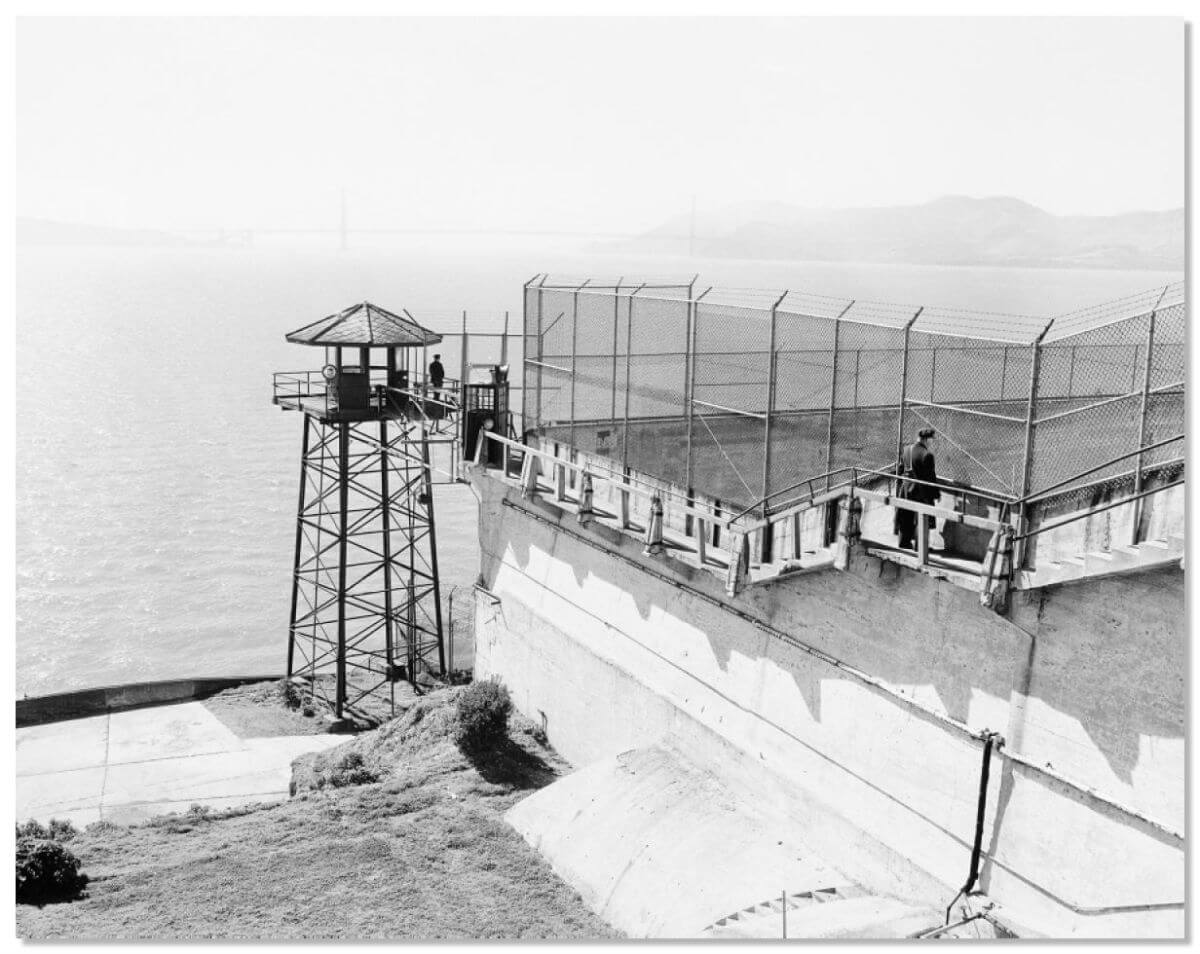 the history of the prison alcatraz Ever wondered what or where alcatraz prison is discover alcatraz history with our alcatraz books and fascinating facts about this famous jail in san francisco.
