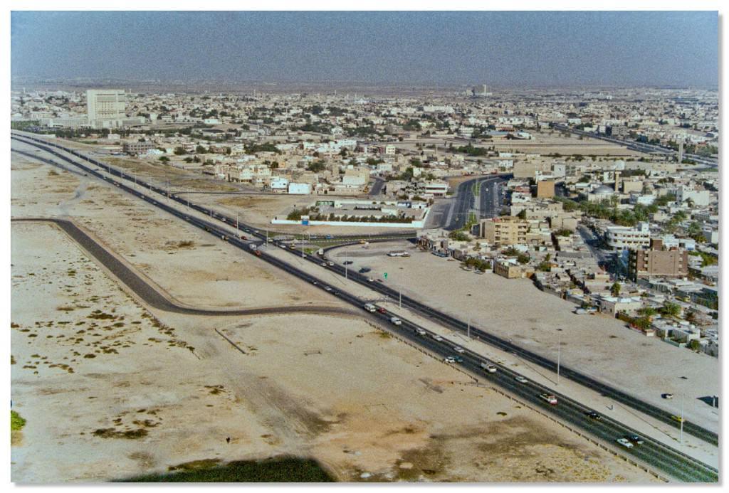 Город Дубай в 1980 году