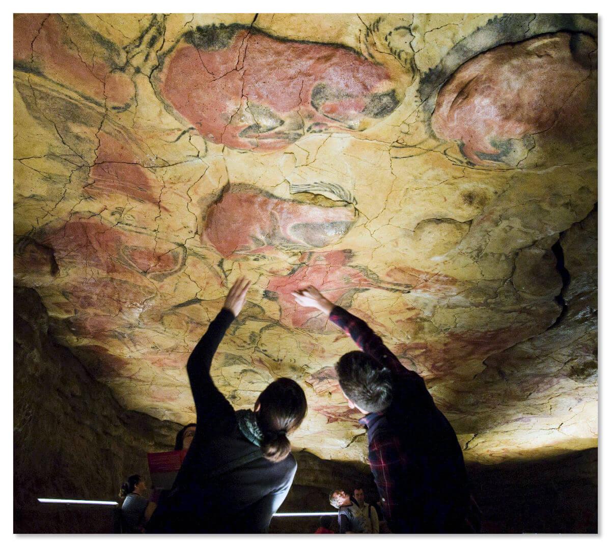 Посещение пещеры Альтамира в Испании