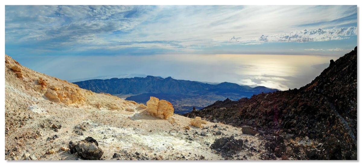 Шикарный вид с вулкана Тейде