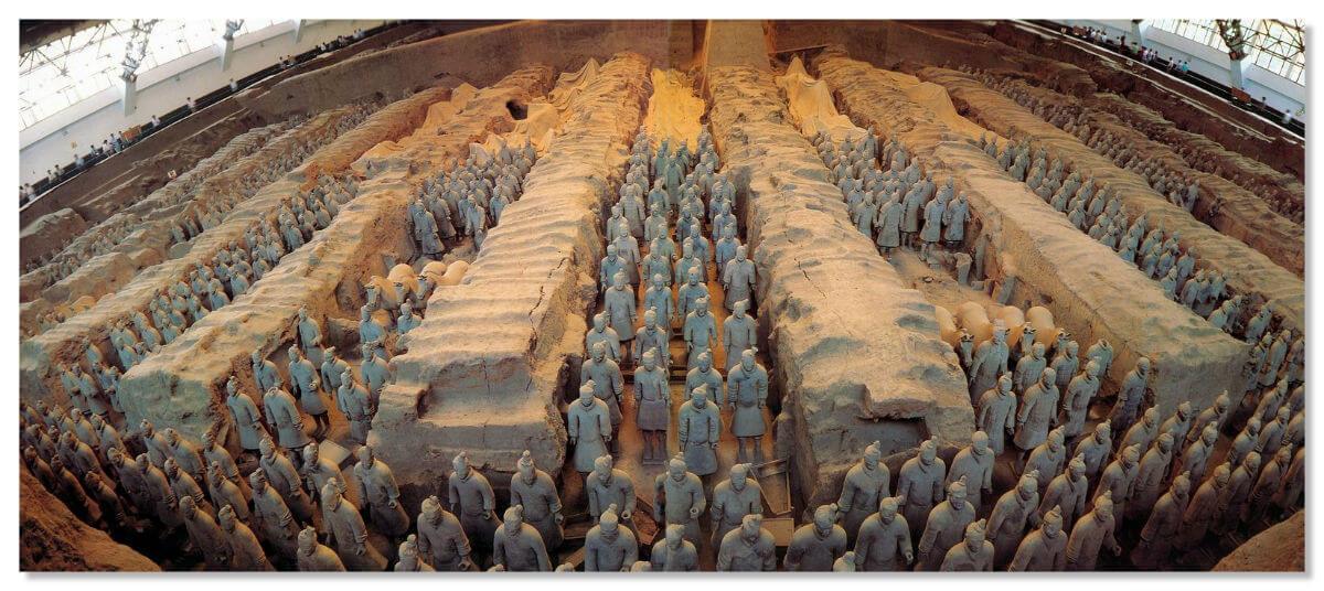 Терракотовая армия императора Цинь Шихуаньди