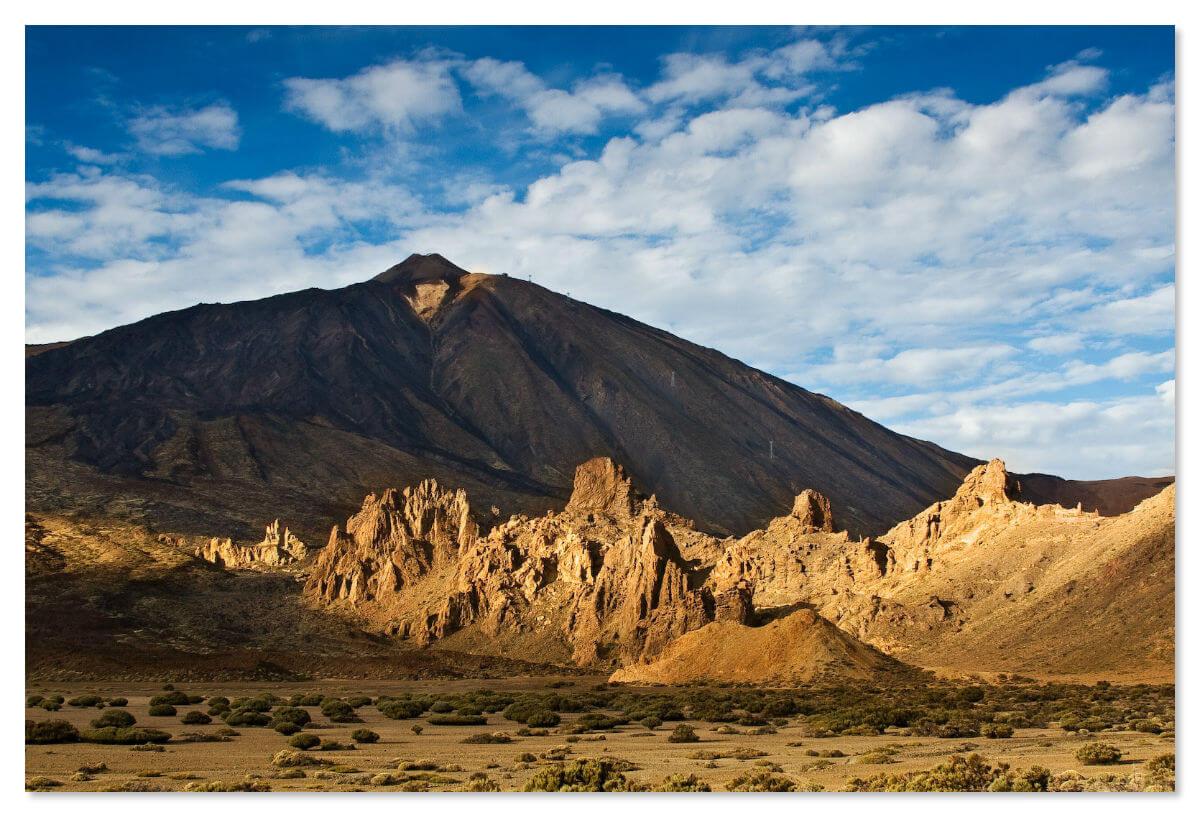 Вулкан Тейде и скалы Рокес де Гарсия
