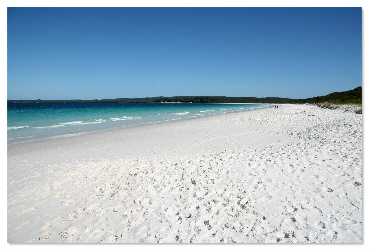 Австралийский пляж Hyams Beach в бухте Джарвис занесен в книгу рекордов Гиннеса