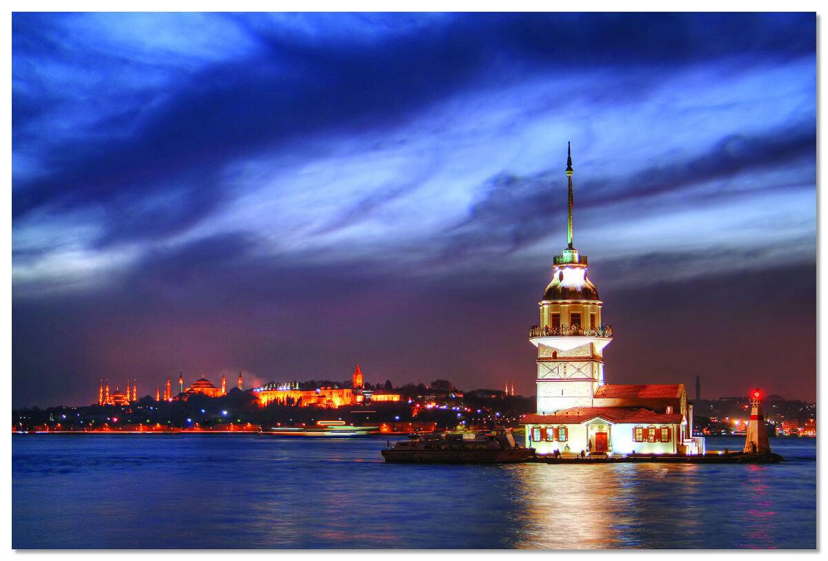 Девичья башня - самый романтичный символ Стамбула