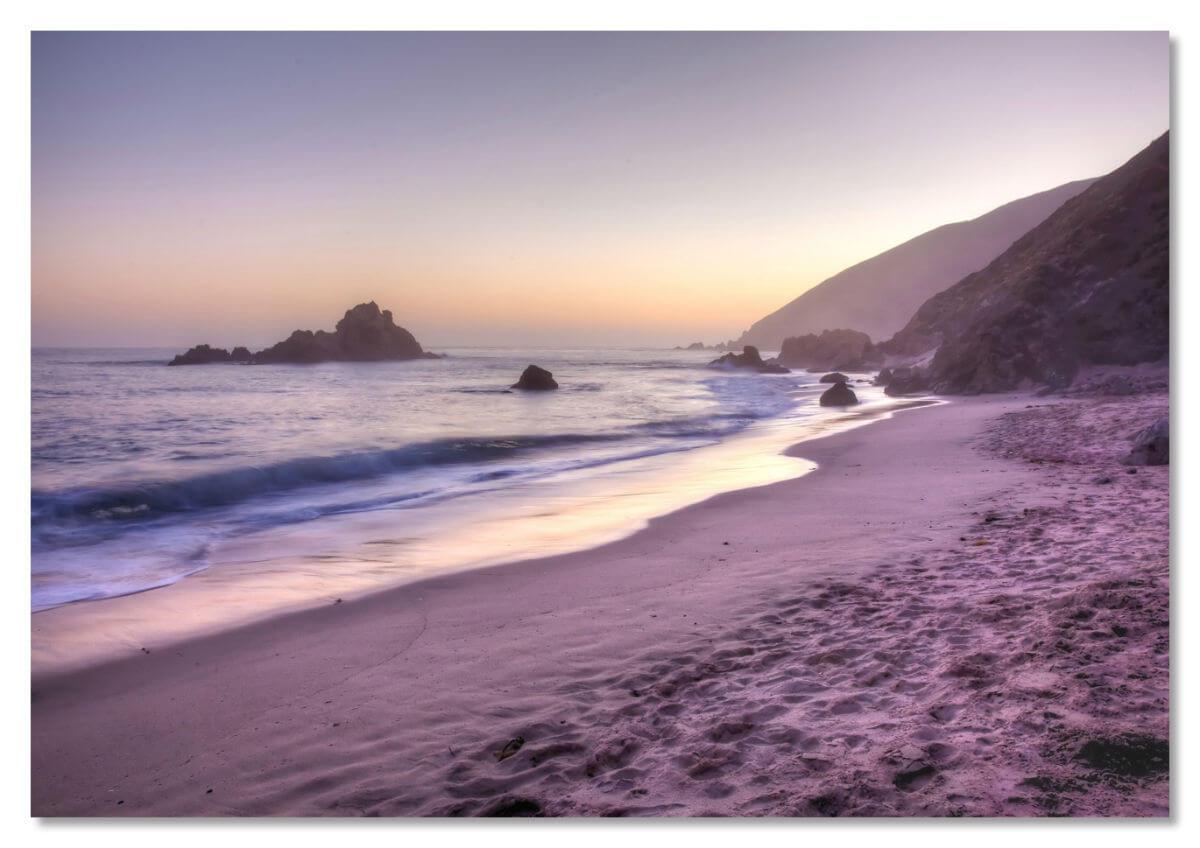Радужный пляж Пфайффер, Калифорния