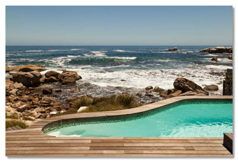 Роскошный отдых на пляже Bakoven, Кейптаун