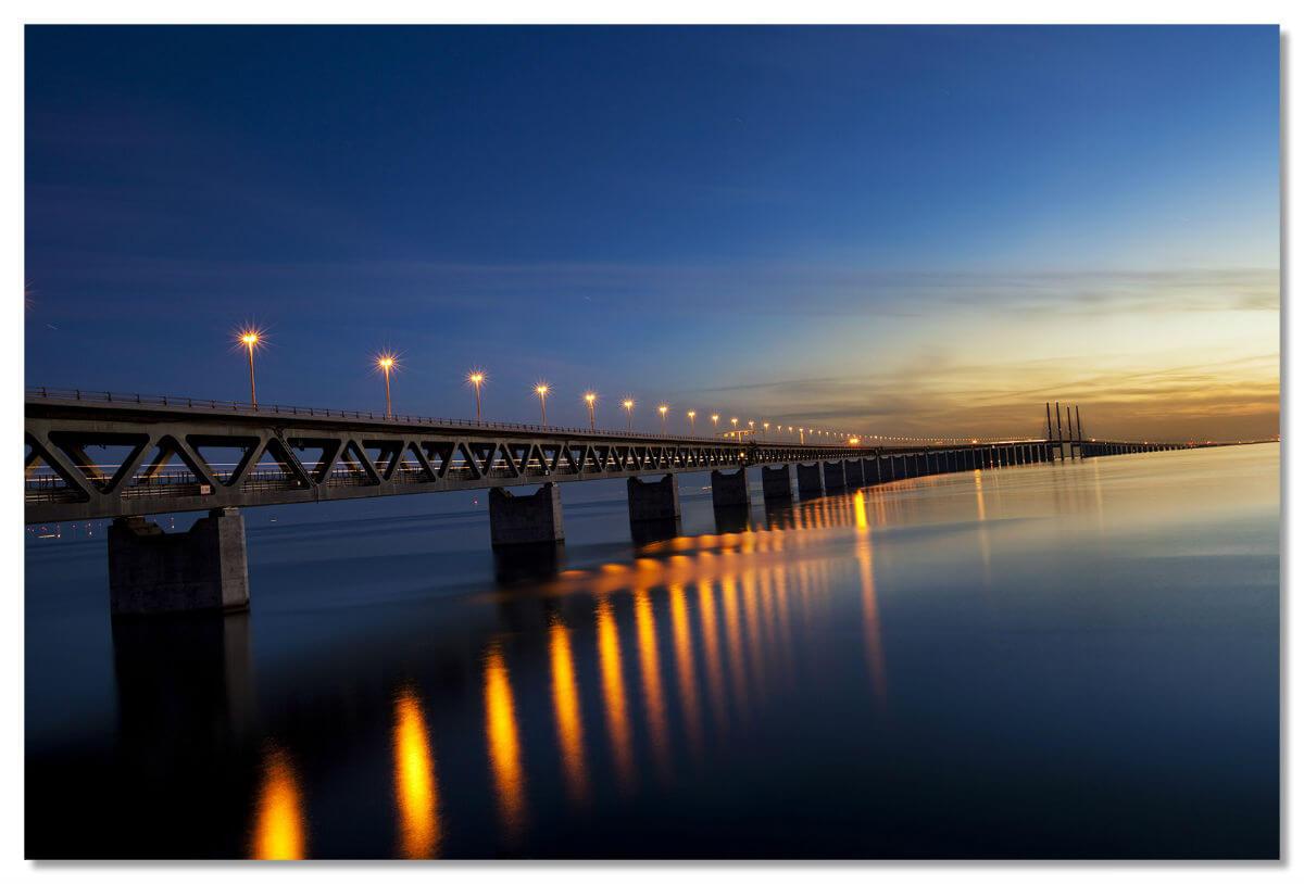 Эресуннский мост для датчан и шведов является ничем иным, как удобным способом передвижения между двумя странами.