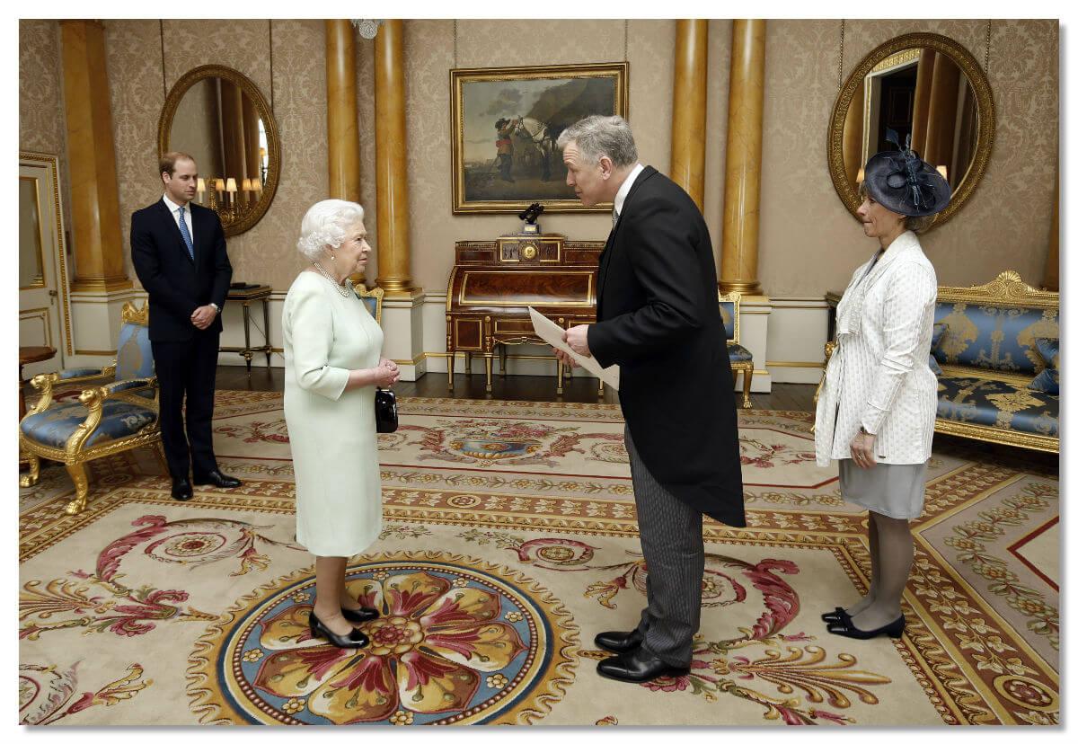 Королева и герцог Кембриджский