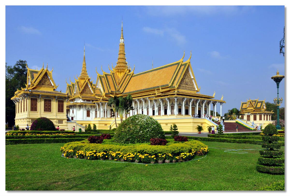 Королевский дворец в Камбоджи
