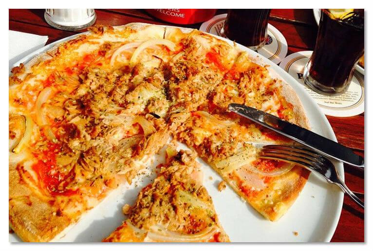 «Тунфиш», или пицца с тунцом, пользуется особой популярностью в Германии