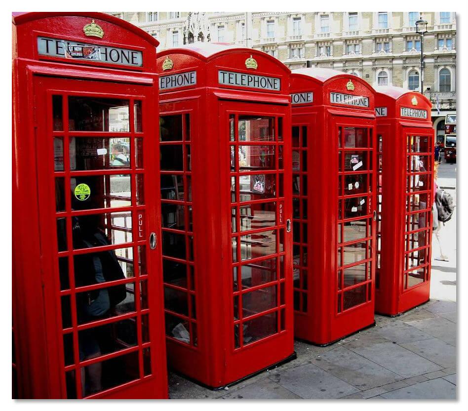 Телефонные кабинки с Wi-Fi