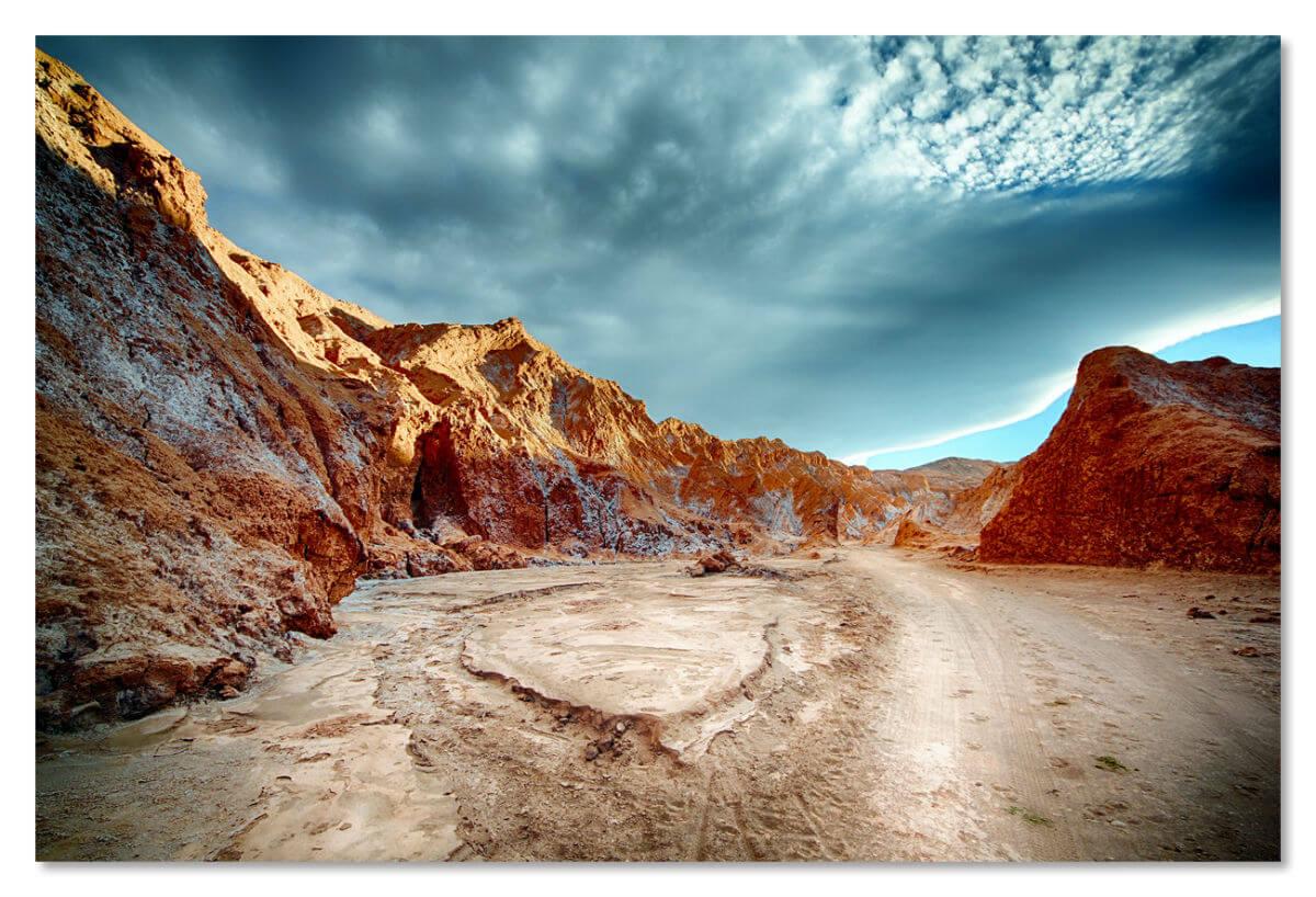 Атакама — самая сухая пустыня Земли