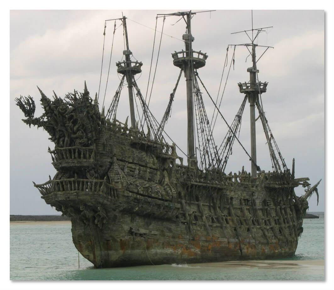 Корабль Bel Amica был найден при загадочных обстоятельствах в 2006 году