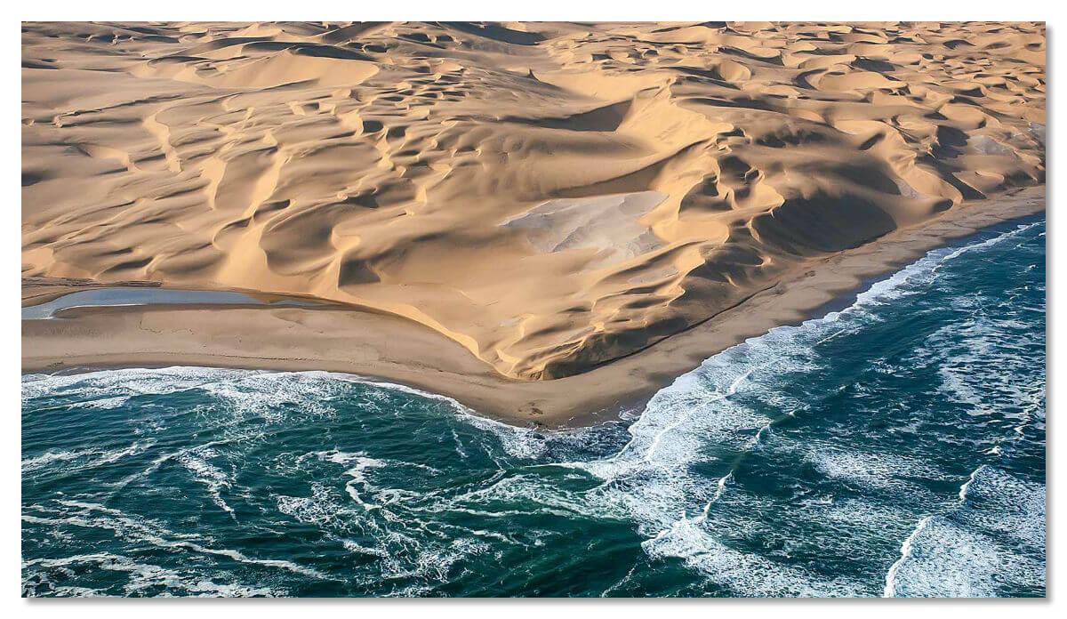 Там, где Намиб встречает Атлантический океан