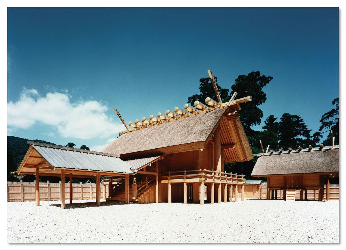 Японский храм Исэ-Дзингу