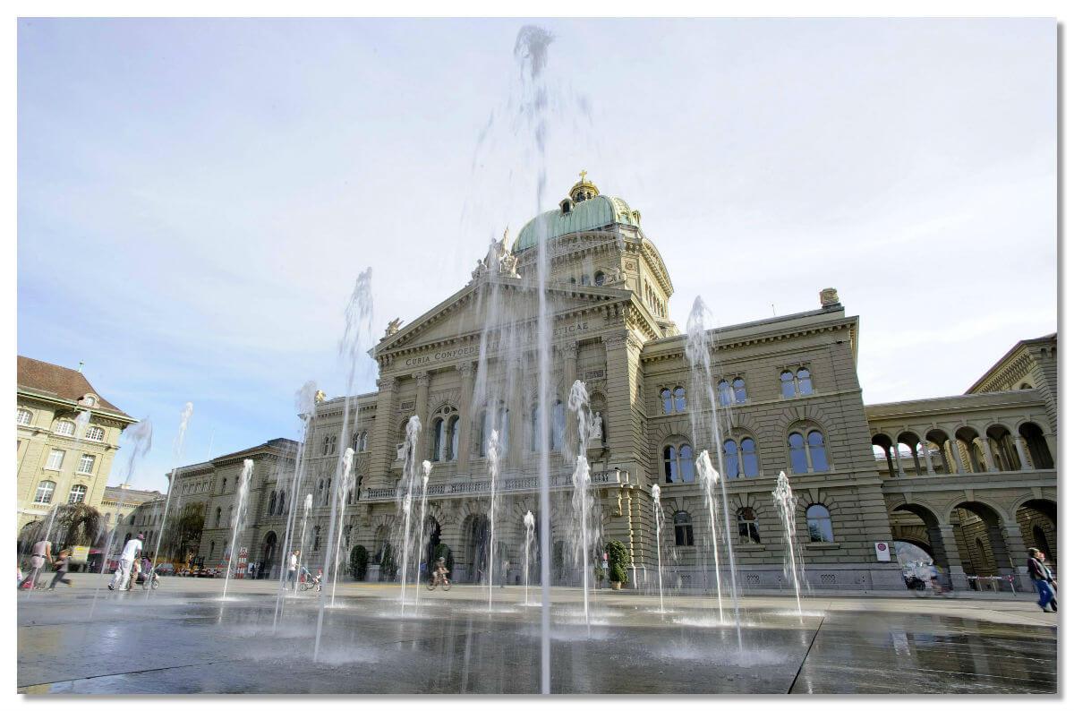 Площадь Бундесплац, Берн