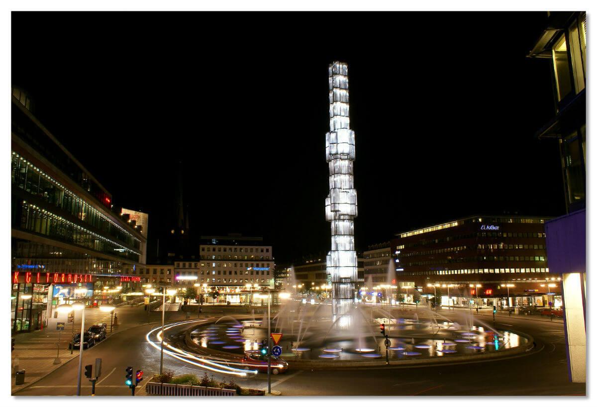 Площадь Сергельсторг, Стокгольм