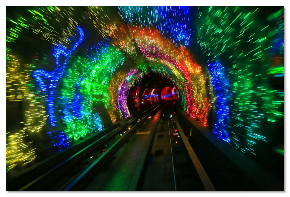 Bund Sightseeing Tunnel, Шанхай