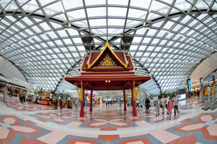 Аэропорт Суварнабхуми, Бангкок, Таиланд