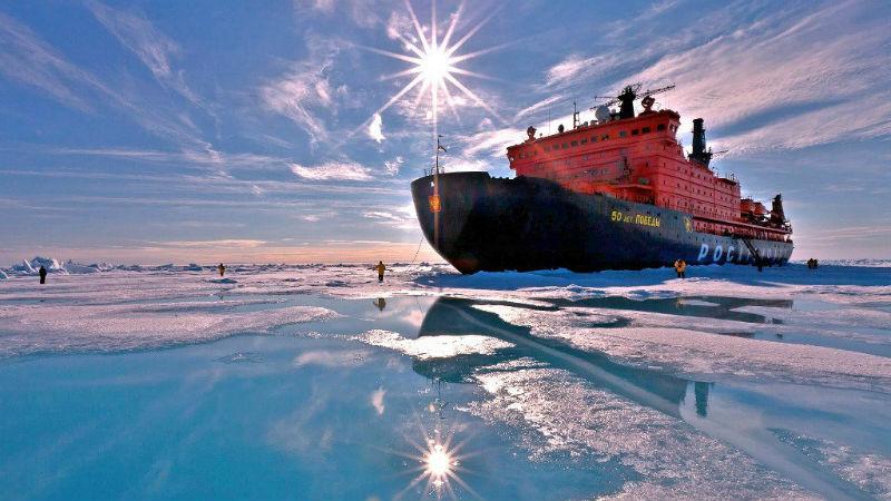 Круизный тур на Северный полюс