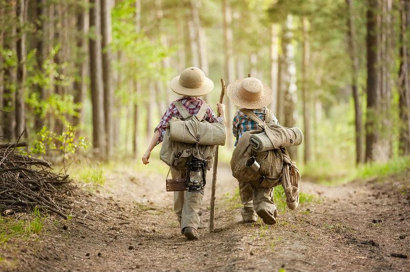 Опасность для детского туризма