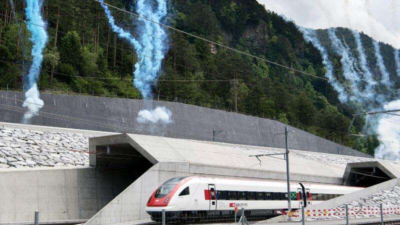 Тоннель под Сент-Готардом