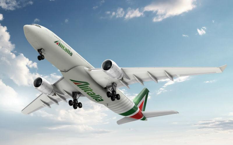 Итальянская авиакомпания Alitalia
