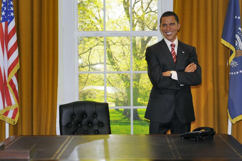 Музей Тюссо Барак Обама