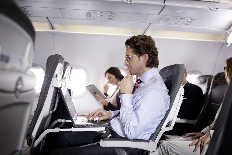 На самолетах Lufthansa будет вай-фай