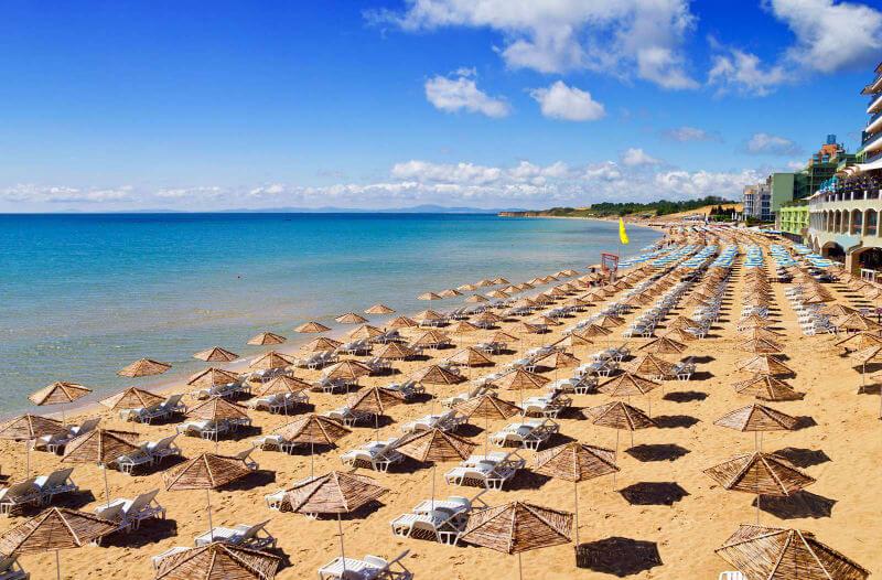 Пляж Болгарии