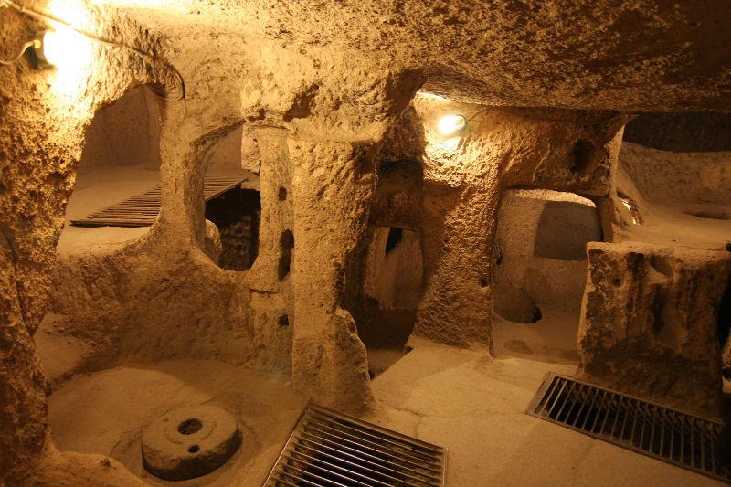 Подземный город Невшехир