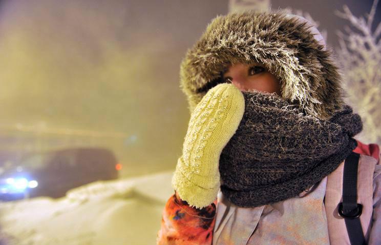 Сильные морозы охватили центр России