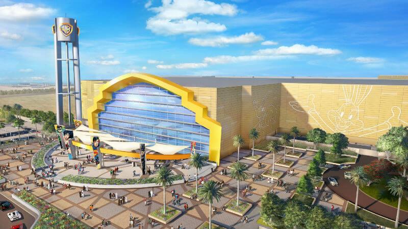В 2018 году на острове Яс открывается комплекс, посвященный героям мира студии Warner Bros