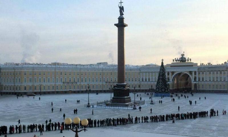 В музеи Санкт-Петербурга очереди