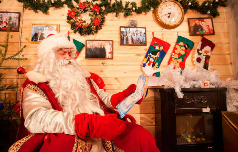 У Дед Мороза новая резиденция