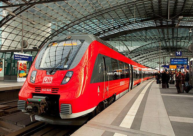 У немецких железнодорожников скидки