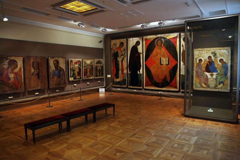 Выставка шедевров Византии в Третьяковской галерее