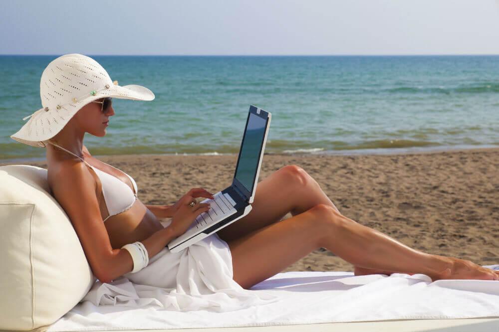 Бесплатный Wi-Fi на крымских пляжах