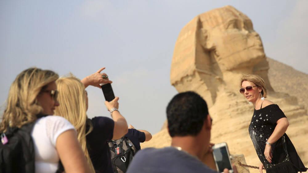 Британцы собираются в Египет