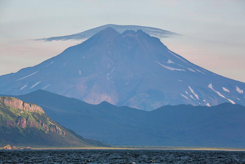 И снова на Камчатке извержение вулкана