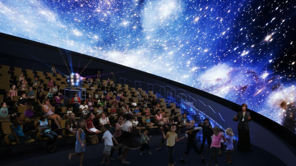 Новый планетарий в Неаполе