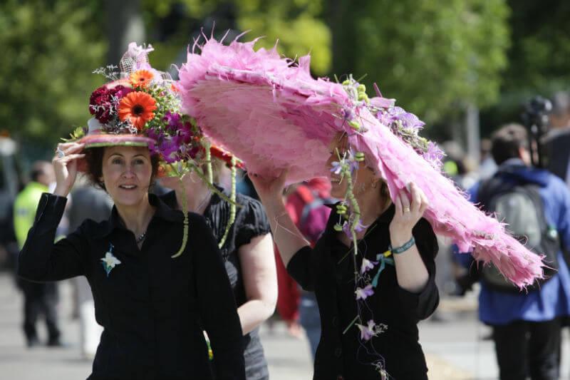 Цветочный праздник в Лондоне