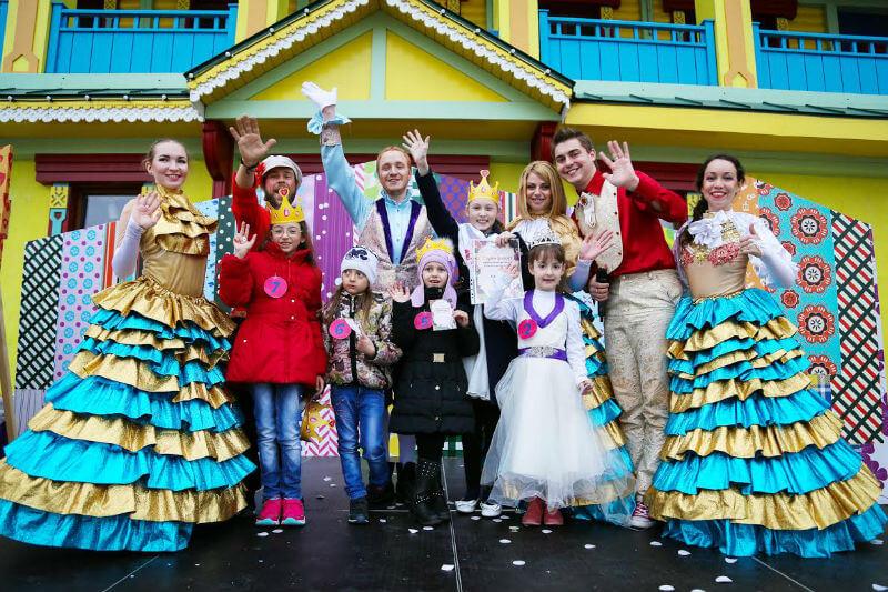 Весенний бал принцесс в Сочи парк