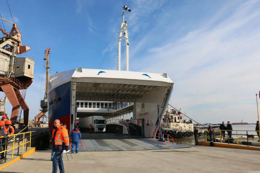 Задержки в порту Керчи