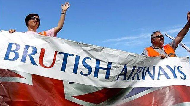 Британские бортпроводники бастуют