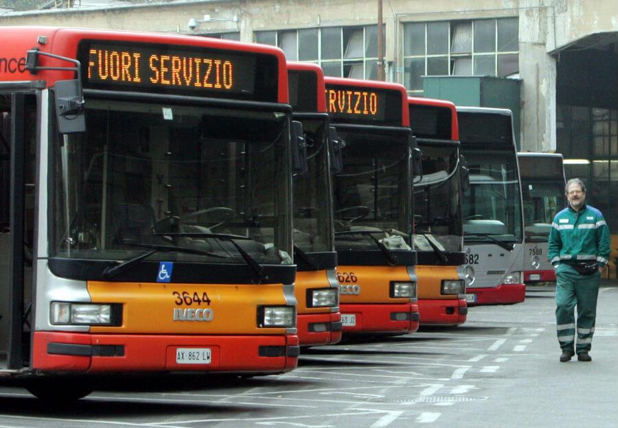 Итальянские транспортники бастуют