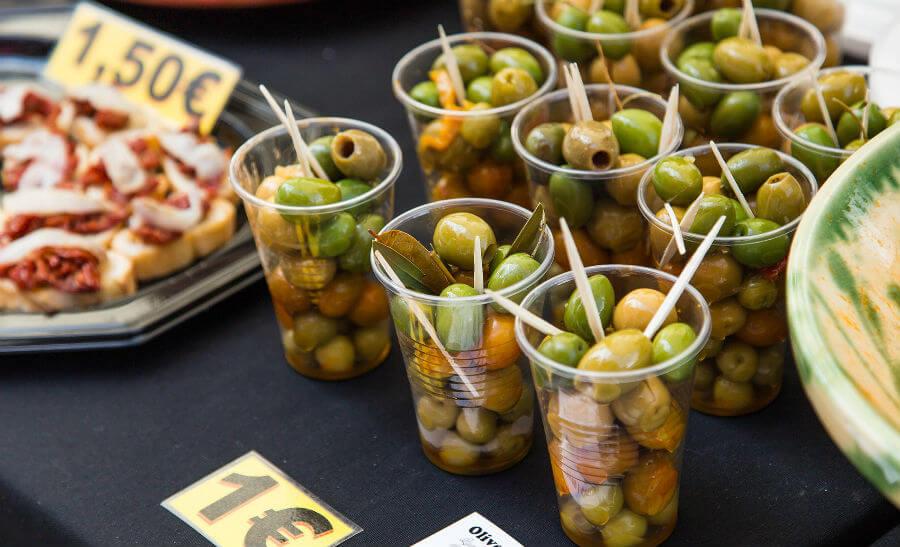 Праздник еды в Барселоне