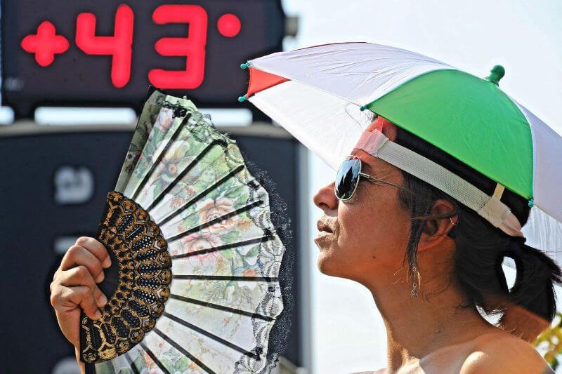 Синоптики говорят о жаре