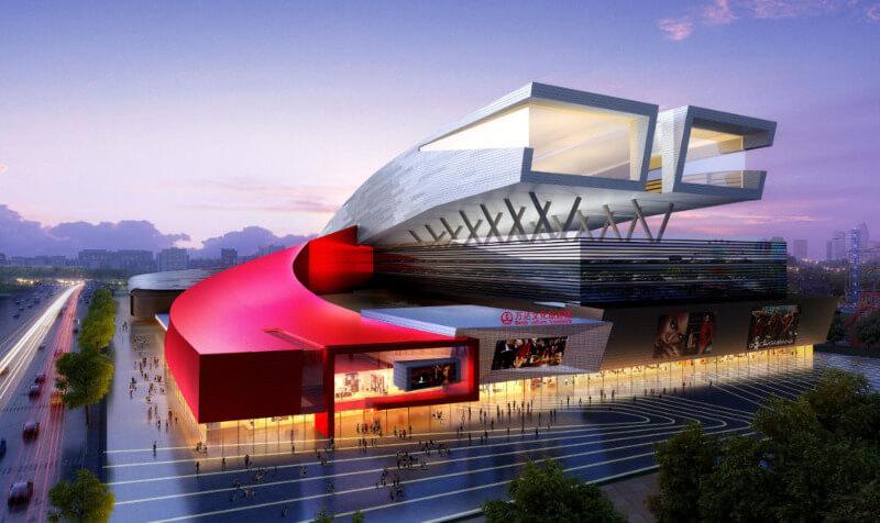 Горнолыжный комплекс открылся в Китае